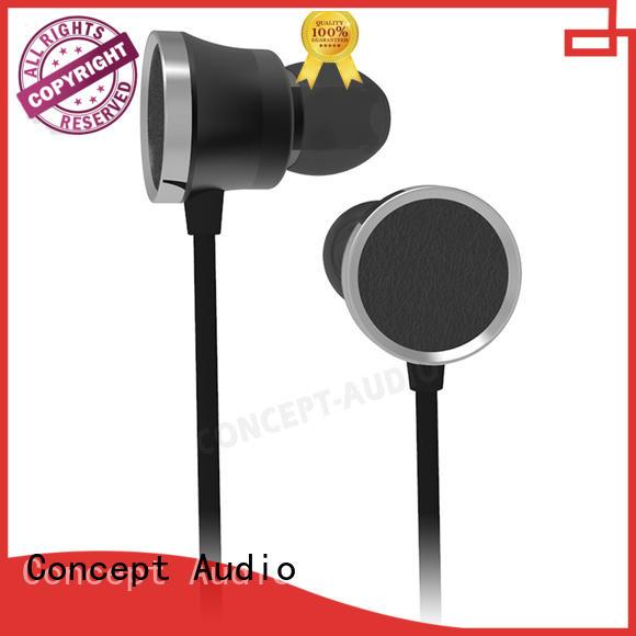 comfortable waterproof light wired earphone bluetooth Concept Audio Brand