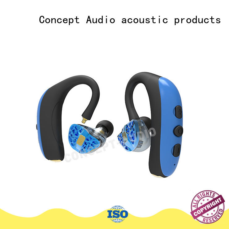 Concept Audio fashionable best headphones with detachable cable for mobile phone