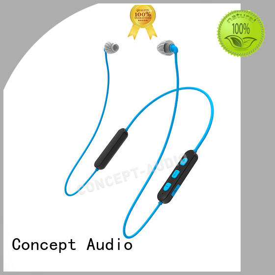 Concept Audio custom fit bluetooth earbuds with rechargeable battery for mobile phone