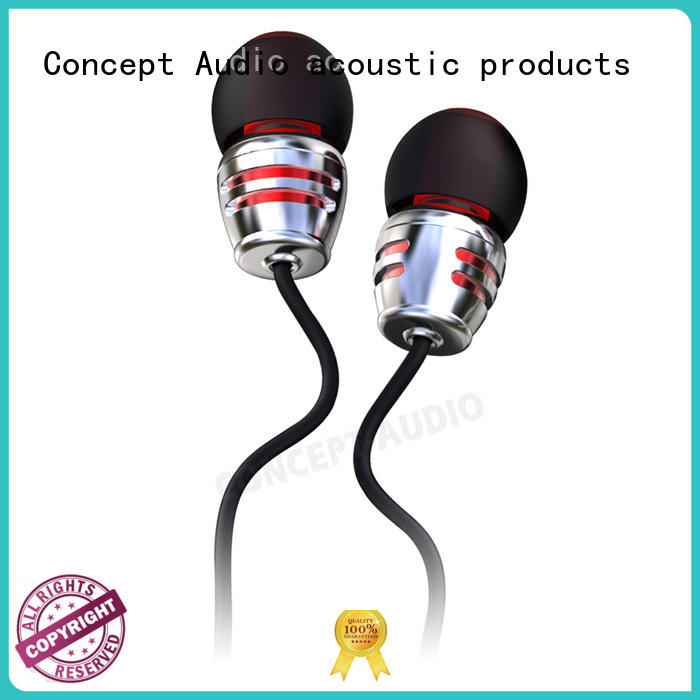 Quality Concept Audio Brand sports inear wired earphone
