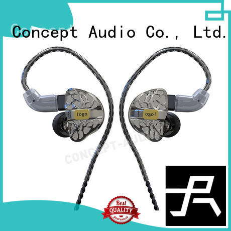 custom fit earbuds earphone sports comfortable Concept Audio Brand