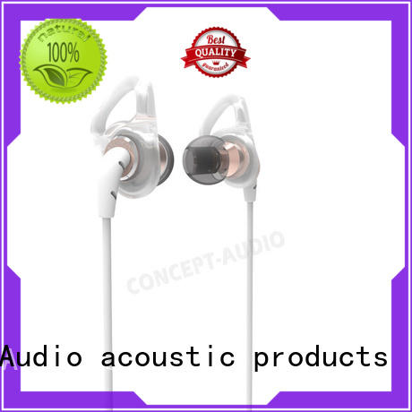 Concept Audio aluminum Metal Wired Earphones with special housing design for sport