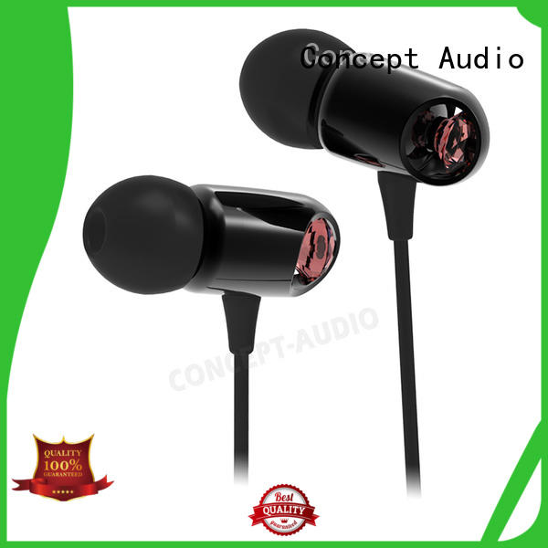detachable earphone wear waterproof Concept Audio Brand wired earphone