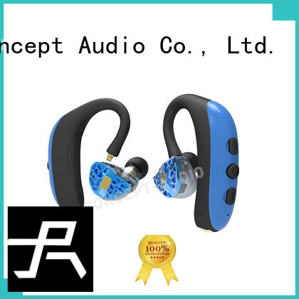 headset custom fit bluetooth earbuds sport Concept Audio company
