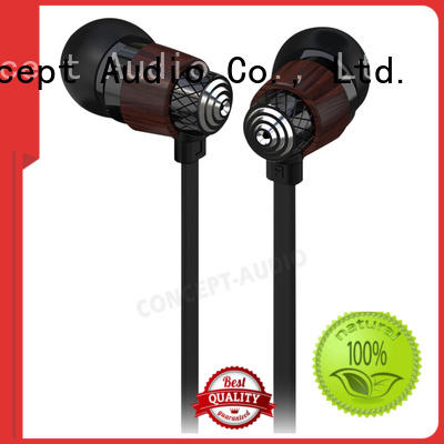 Custom wear bluetooth wired earphone Concept Audio comfortable
