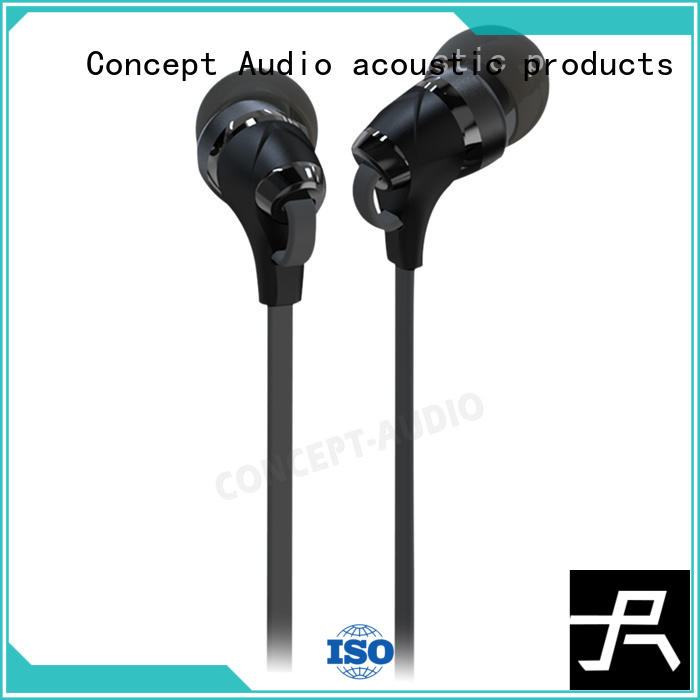Concept Audio electronics Metal Wired Earphones monitor for gift