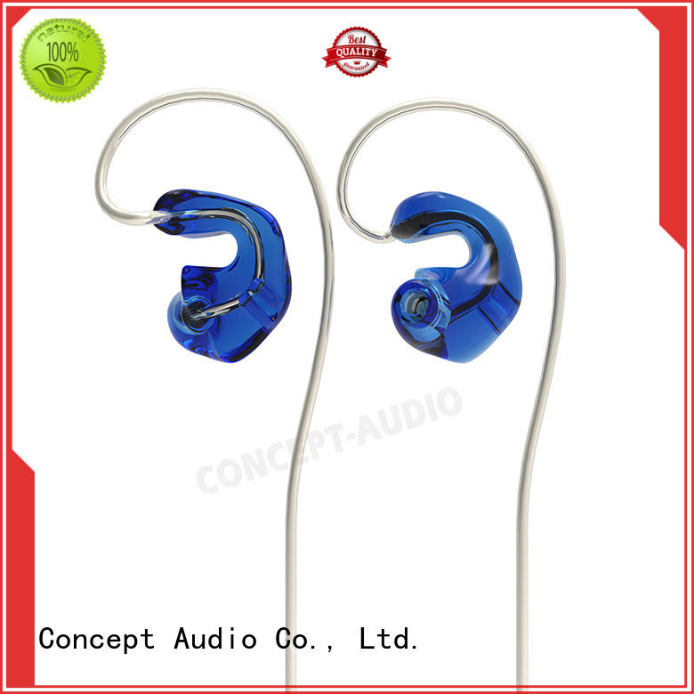 sports wired earphone silicone Concept Audio company