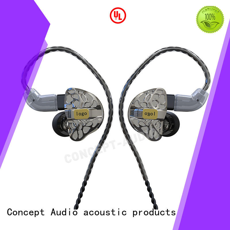 Concept Audio universal earphones with mic for mobile phone