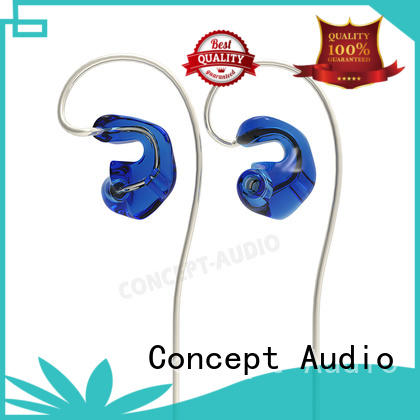 wear silicone wired earphone light Concept Audio