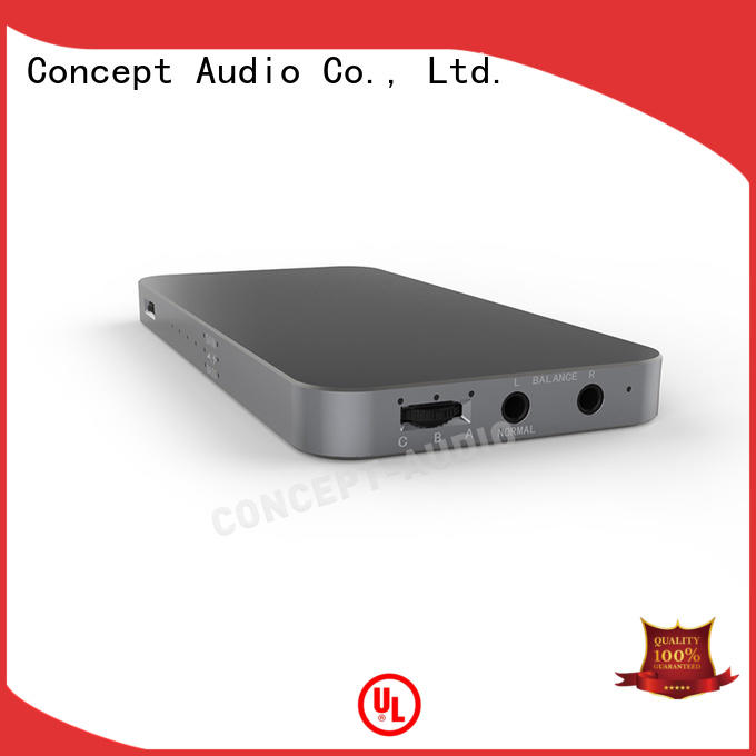 Concept Audio aluminum Headphone Amplifiers decoder for sport