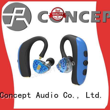 Concept Audio sweatproof best wired in ear headphones earhook for sale
