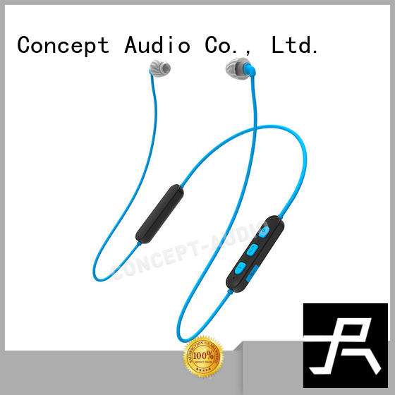 high quality waterproof bluetooth headset with rechargeable battery for mobile phone Concept Audio