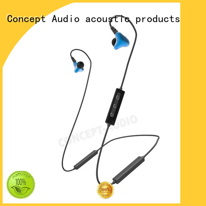 Quality Concept Audio Brand custom fit bluetooth earbuds insulation