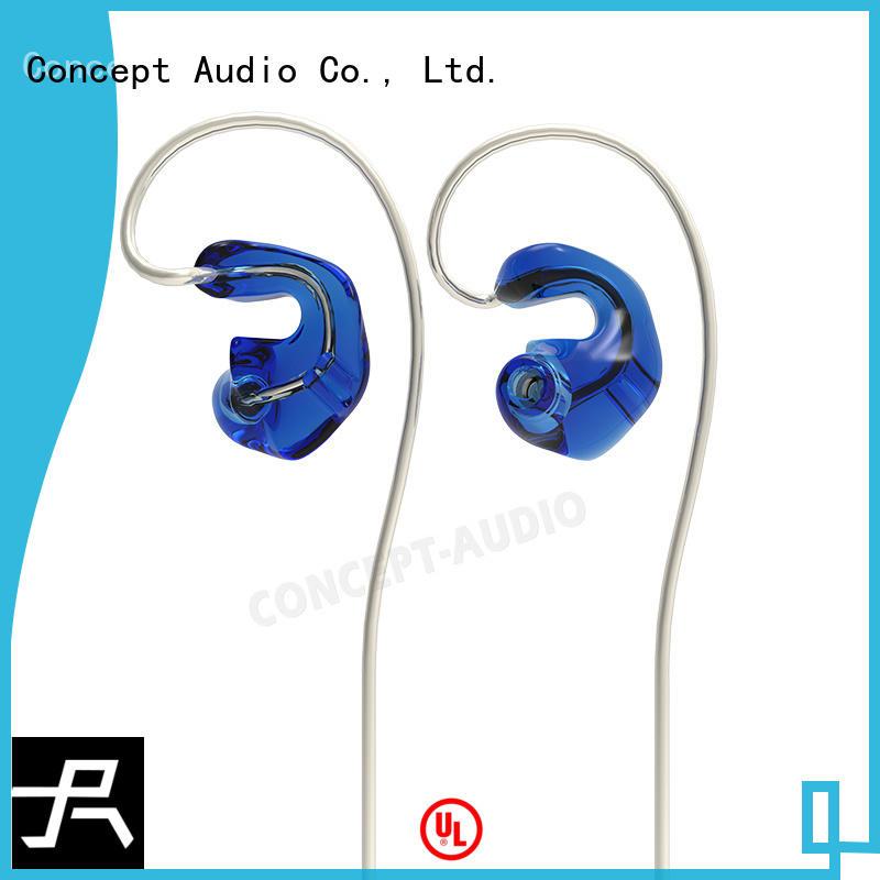 Concept Audio black custom fit earphones for mobile phone