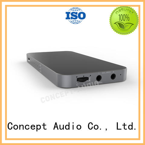 colored Type C adaptor with dip switch for sport Concept Audio
