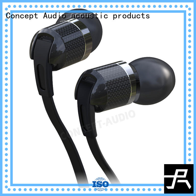 sweatproof audiophile headphone with stable earhook for computer