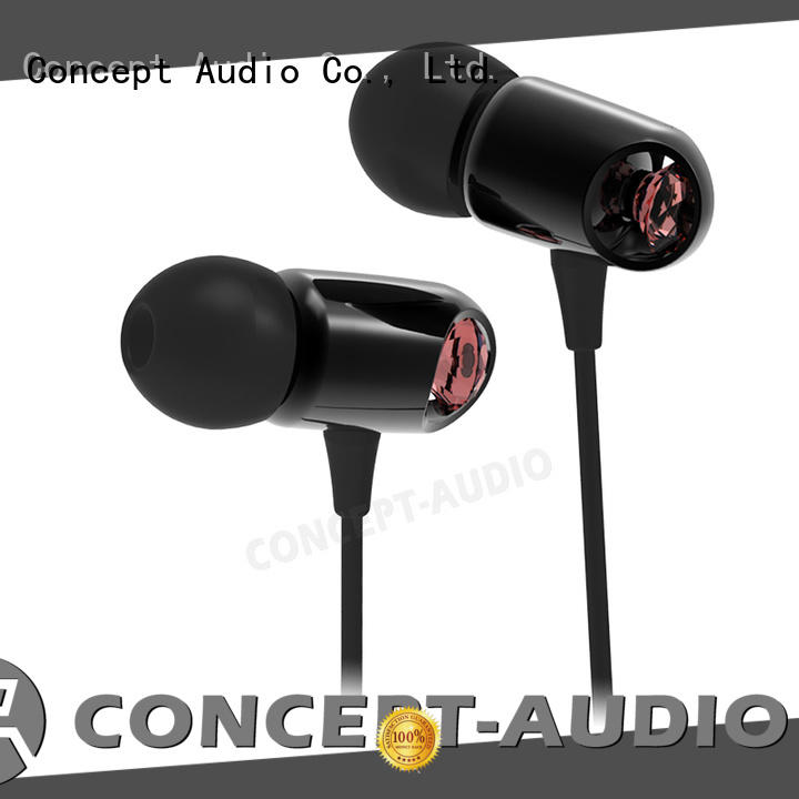 Concept Audio mobile Metal Wired Earphones new for mobile phone