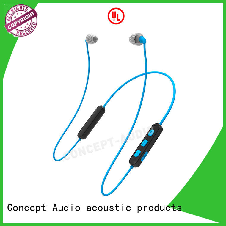 Concept Audio best bluetooth sport earbuds with rechargeable battery for mobile phone