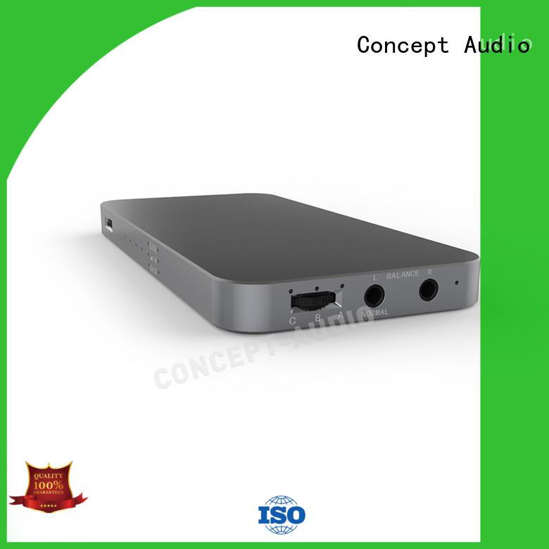Concept Audio Brand bass lightweight high resistance headphone amp manufacture