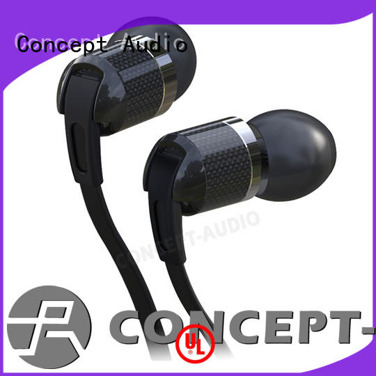 Hot sweatproof cheap custom earphones design Concept Audio Brand
