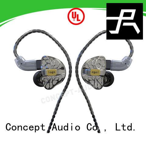 Concept Audio universal earphones in ear monitor for mobile phone