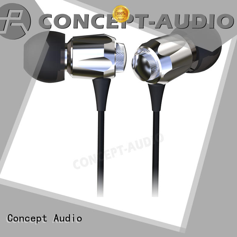hifi waterproof comfortable light detachable earphone Concept Audio Brand