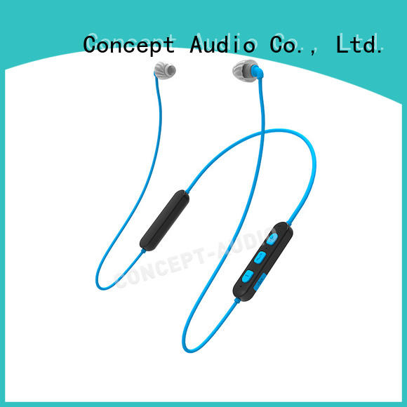 Concept Audio silicone waterproof bluetooth earbuds high quality for sale