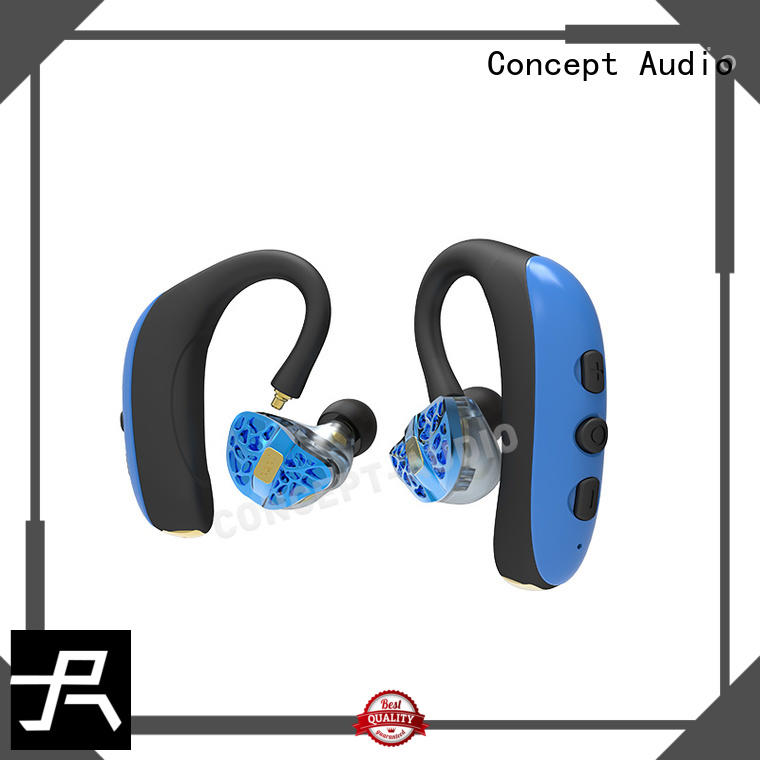 quality dynamic bluetooth headset sport insulation Concept Audio Brand company
