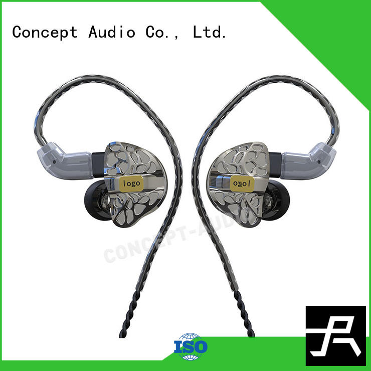 universal earphones with three dimensional printing for mobile phone Concept Audio